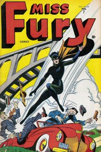 Miss Fury cover